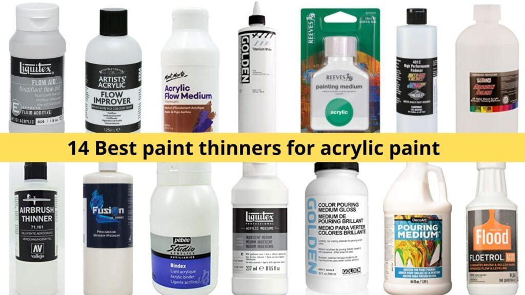 acrylic paint thinner