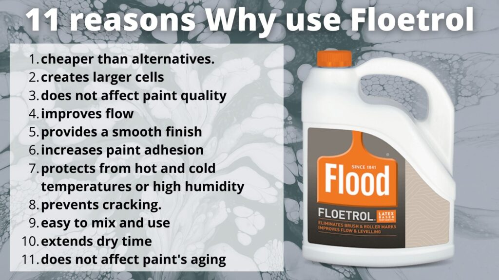 why use floetrol in acrylic pouring