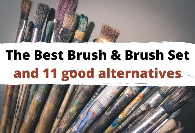 best brush for acrylic paint on canvas