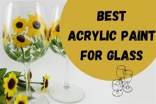 acrylic paint for glass