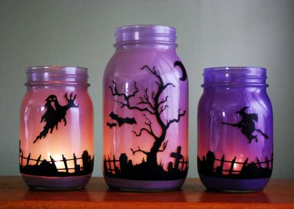 Acrylic paint for glass jars