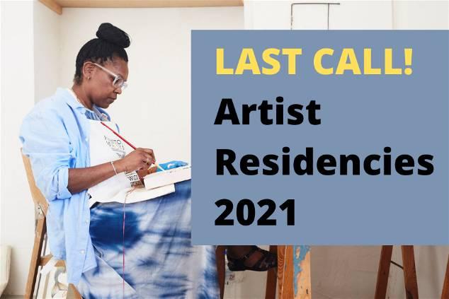 artist residencies 2021