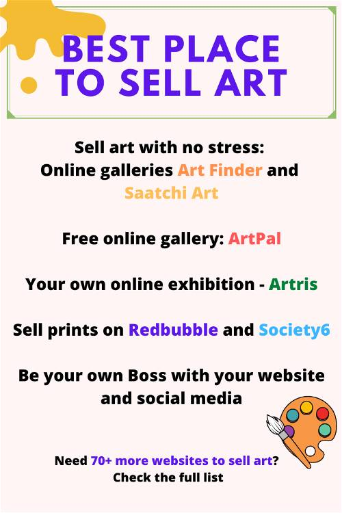best place to sell art